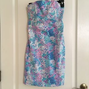 Dresses & Skirts - Lilly Pulitzer Forget Me not flower dress 4